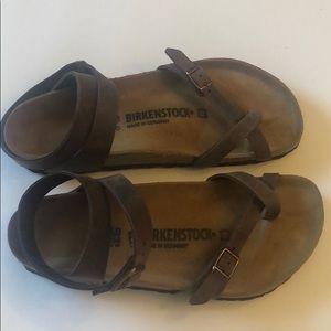 Birkenstock Yara size 40 habana sandals